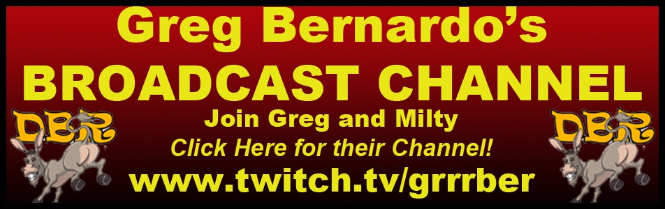 Click Here for Greg and Milty's Live Broadcasts!