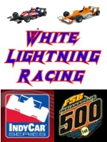 While Lightning Racing.   Proud sponsors of the indycar series and the indianapolis 500.